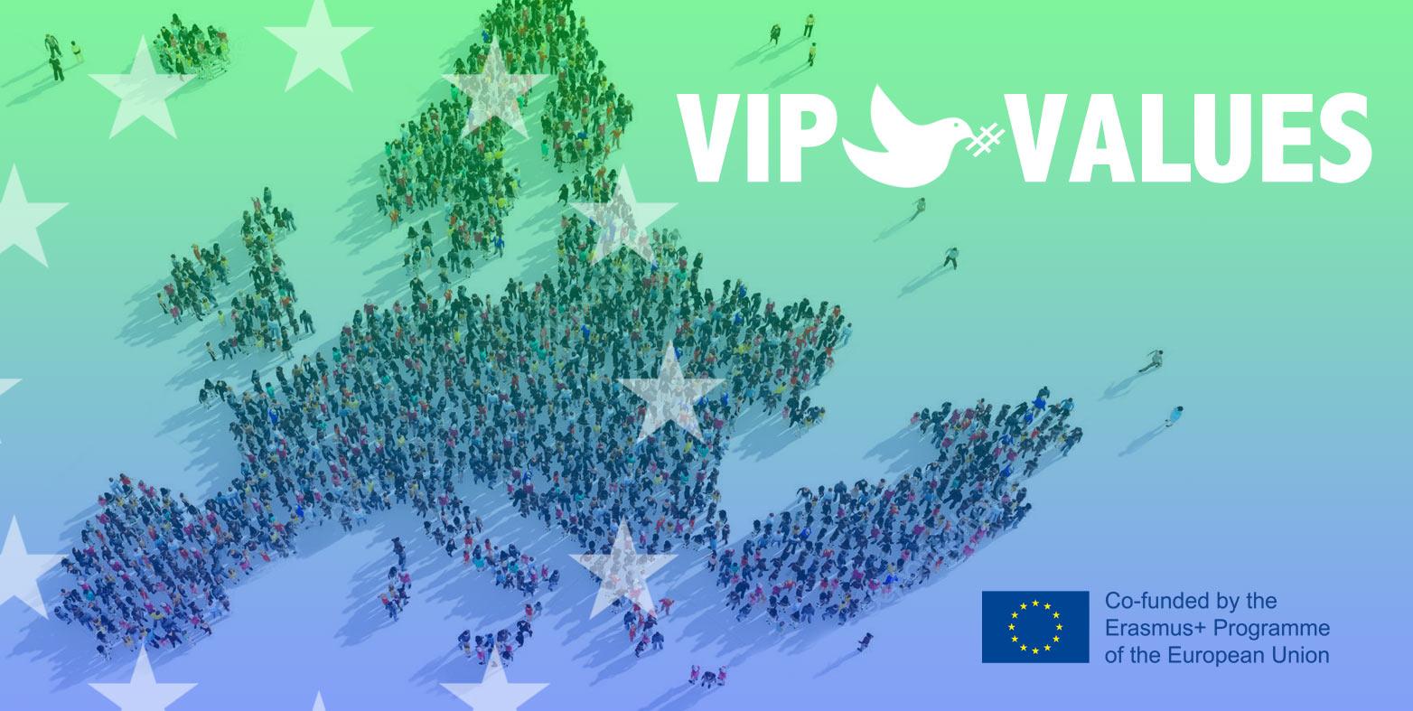 VIP Values: Voluntariado y TIC para fomentar los valores de Paz y promover sociedades justas e inclusivas