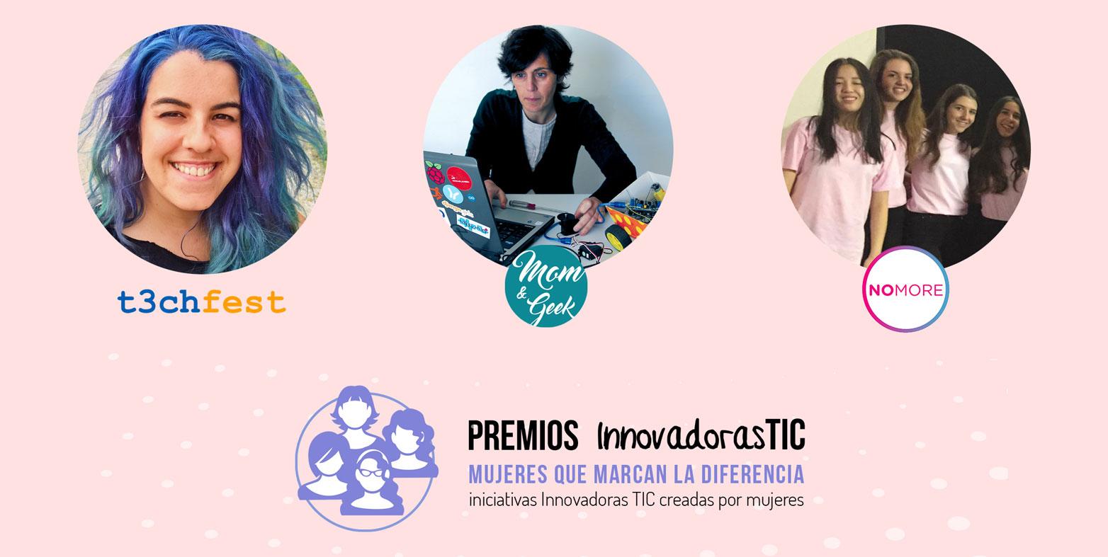 Ven a conocer a las ganadoras de los Premios Innovadoras TIC 2018