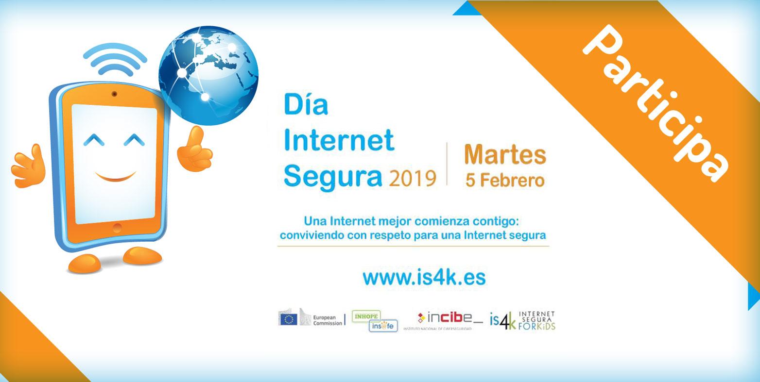 Ven a celebrar el Día de Internet Segura 2019 con Cibervoluntarios