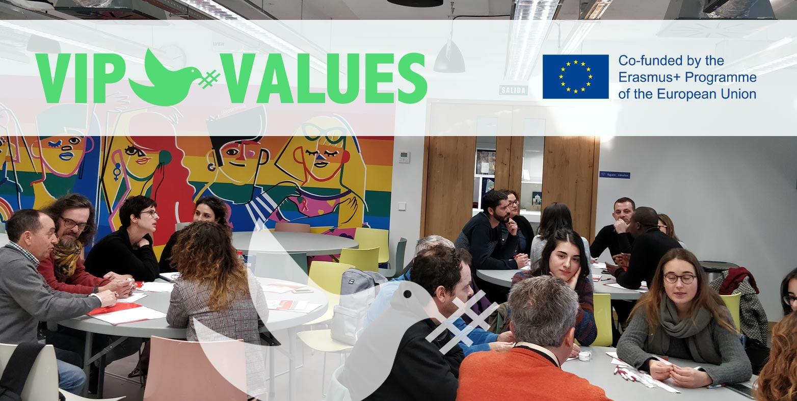 VIP Values: Buenas prácticas para voluntarios y formadores que trabajan con refugiados y migrantes