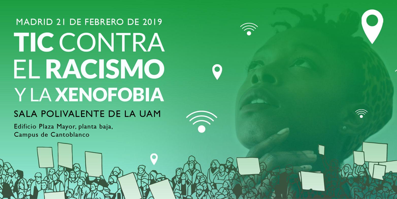 Jornada TIC contra el racismo y la xenofobia: Inscripciones abiertas