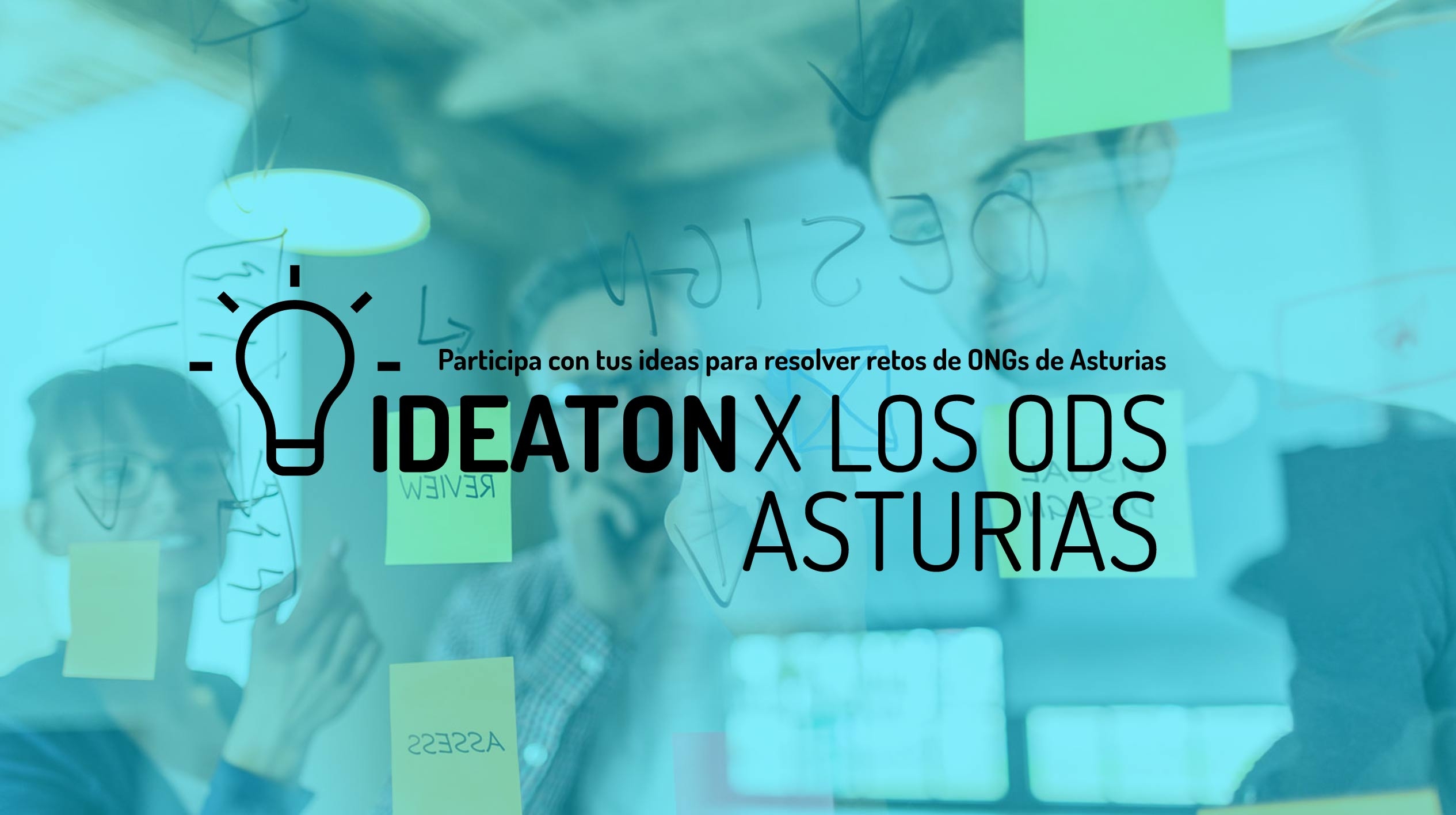Ideaton por los ODS: participa con tus ideas para resolver los retos de las ONGs de Asturias