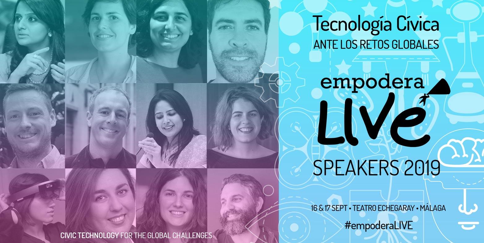 #EmpoderaLIVE 2019 reúne en Málaga a líderes en tecnología cívica que están cambiando el mundo