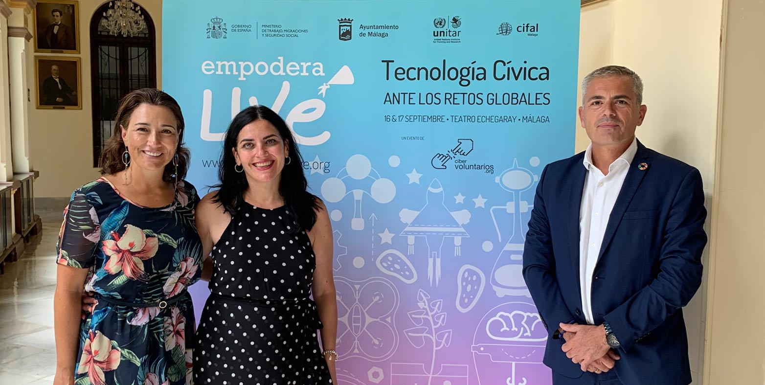 Malaga, meeting point for global experts in civic technology for the global challenges.