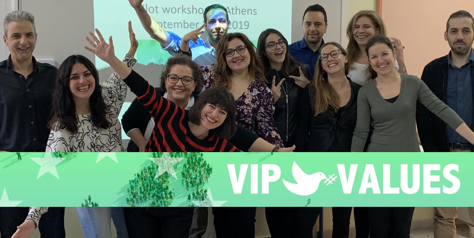 VIP Values ​​Pilot Experiences: Good technology and peace practices for refugees and migrants