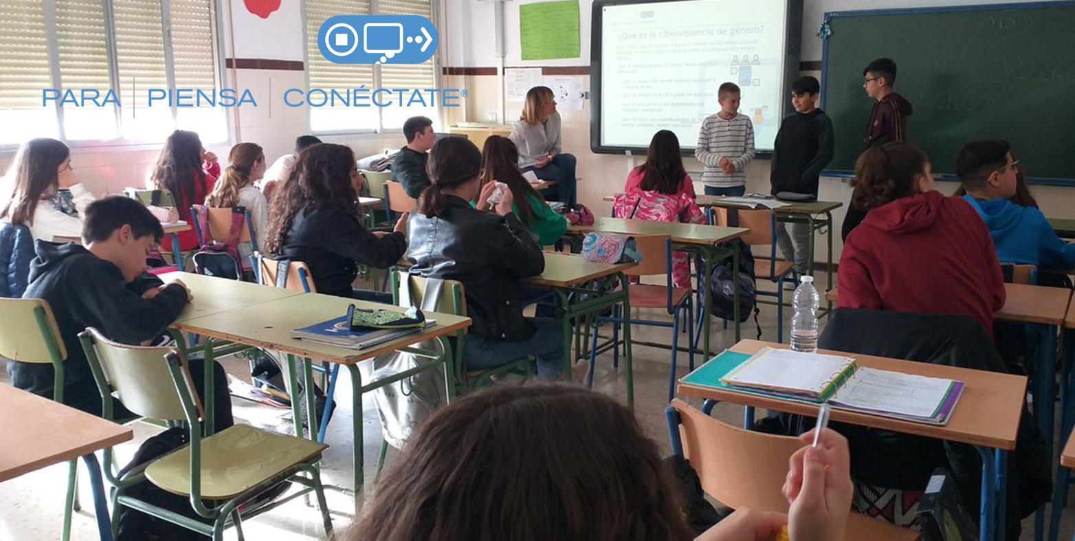 Nuevo espacio de Cibervoluntarios en INTEF con 'Para Piensa Conéctate'
