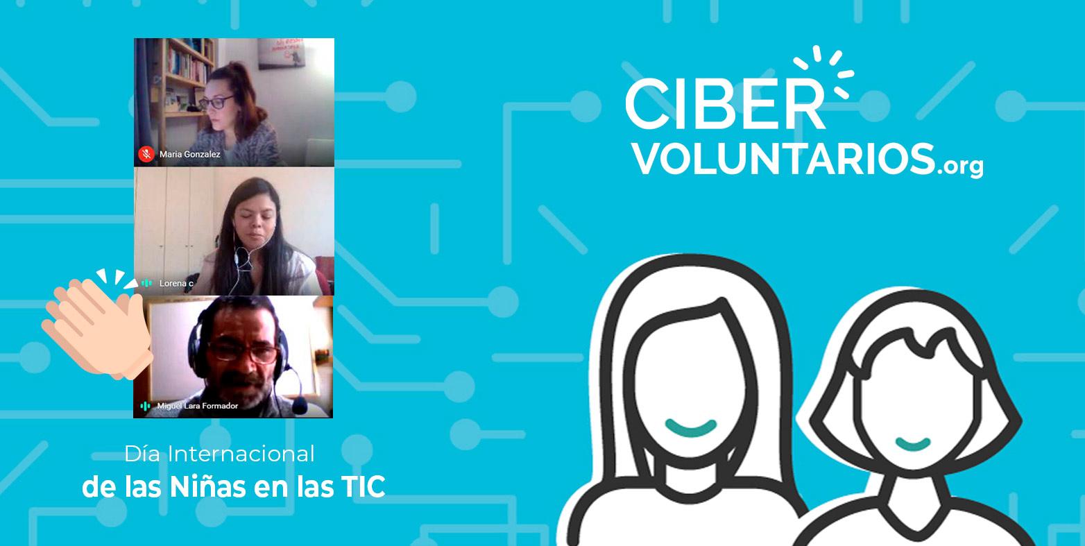 Fundación Cibervoluntarios fomenta el papel de las mujeres y niñas en las TIC