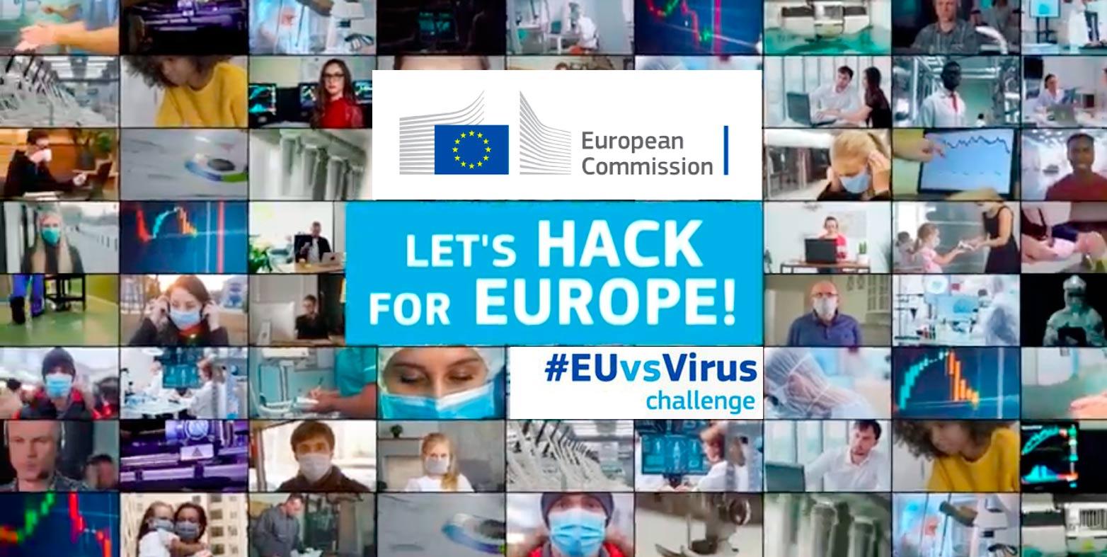 Cibervoluntarios participa en el Hackathon #EUvsVirus impulsado por el Consejo Europeo de Innovación