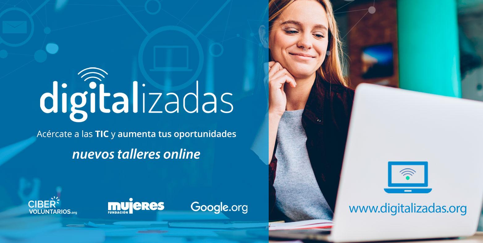 Digitalizadas continúa con talleres online para derribar la triple brecha: digital, rural y de género