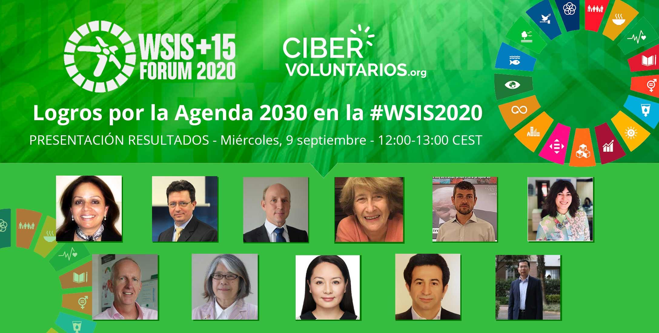 Logros por la Agenda 2030 en la WSIS 2020: participamos en la presentación de resultados