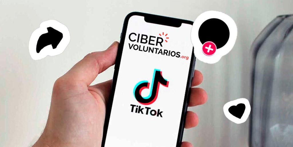 3, 2, 1... Cibervoluntarios pone en marcha su nuevo perfil de Tik Tok