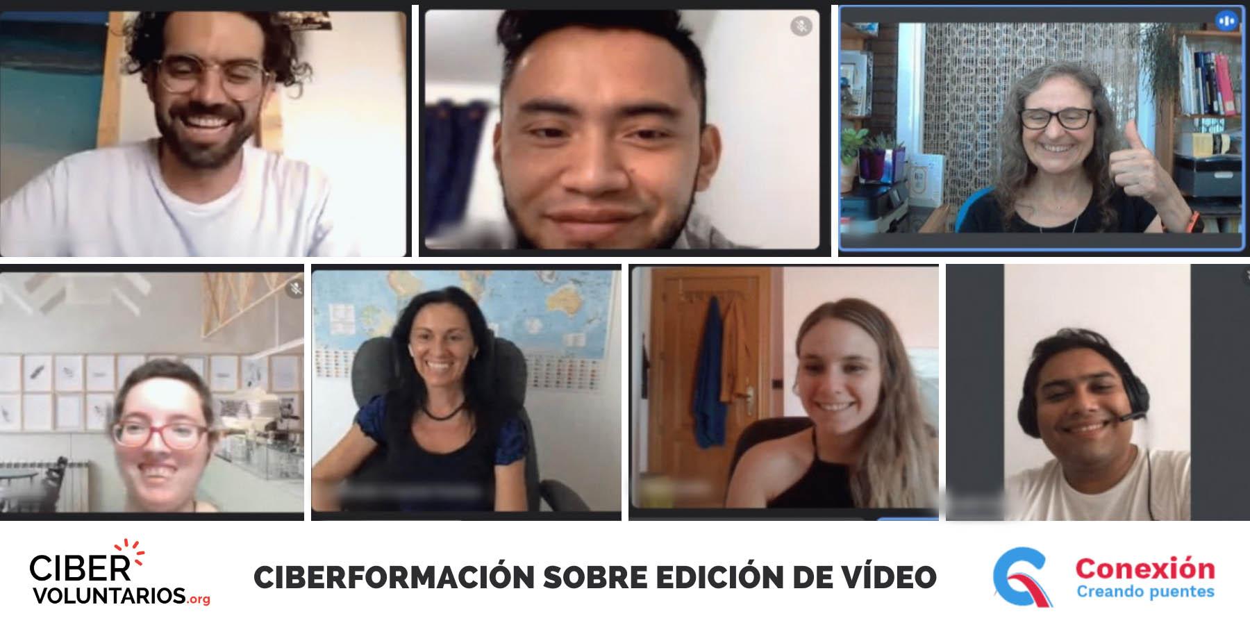 Edición de vídeo contra la exclusión social de personas desplazadas y refugiadas