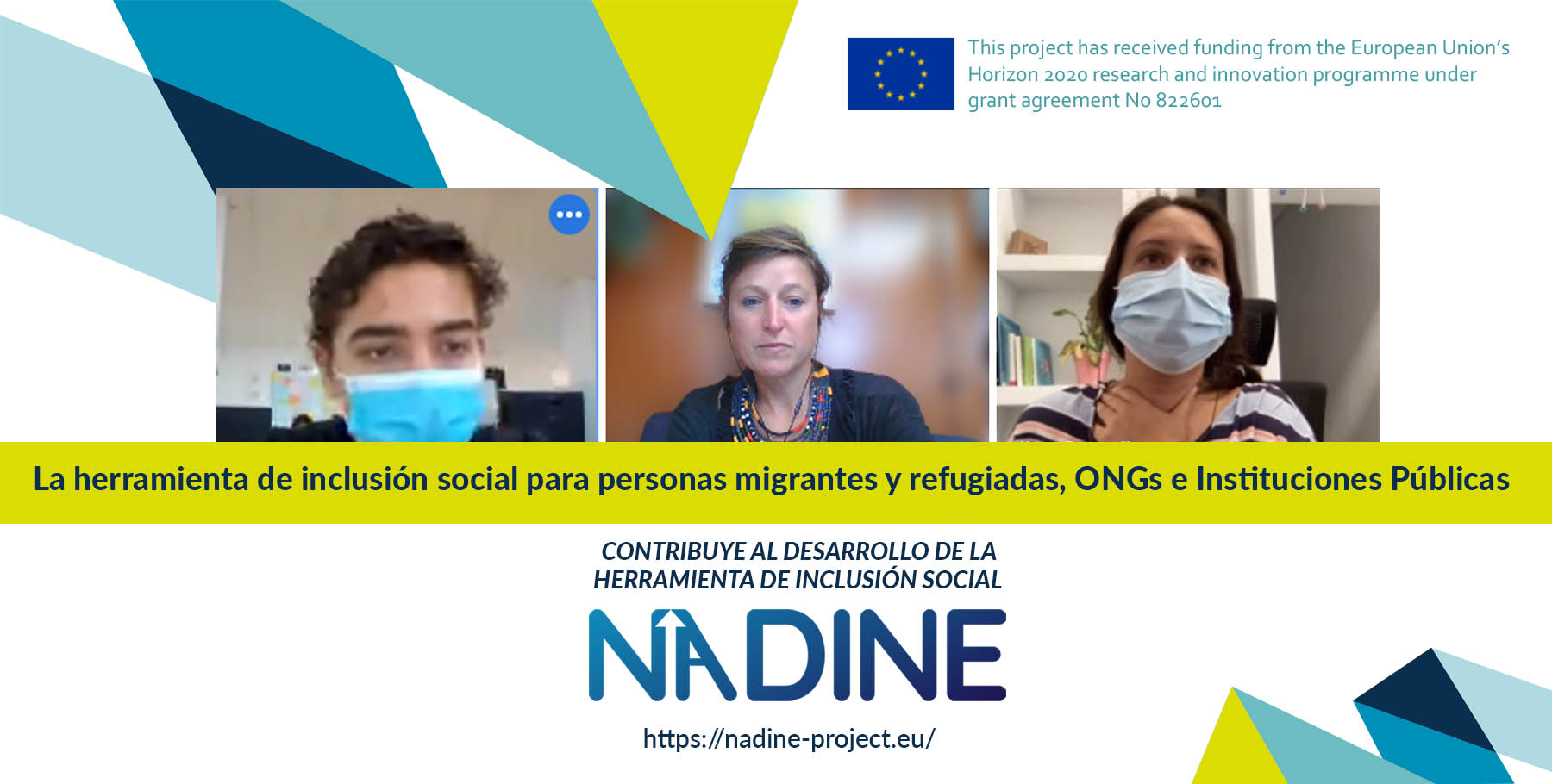 Finalizamos los pilotos de NADINE: empleo y formación para la inclusión de personas migrantes, refugiadas y demandantes de asilo